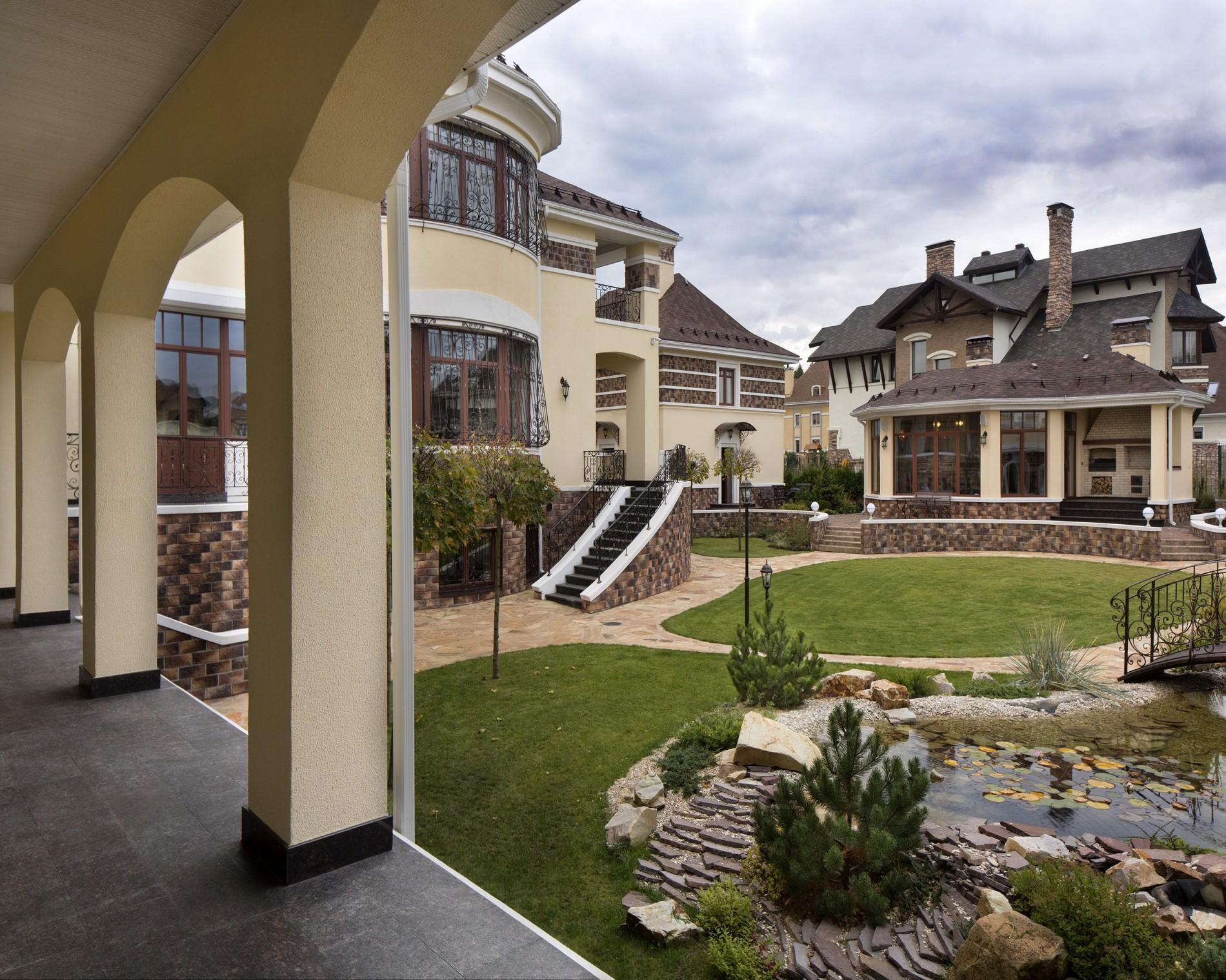 Лучший ландшафт загородного дома