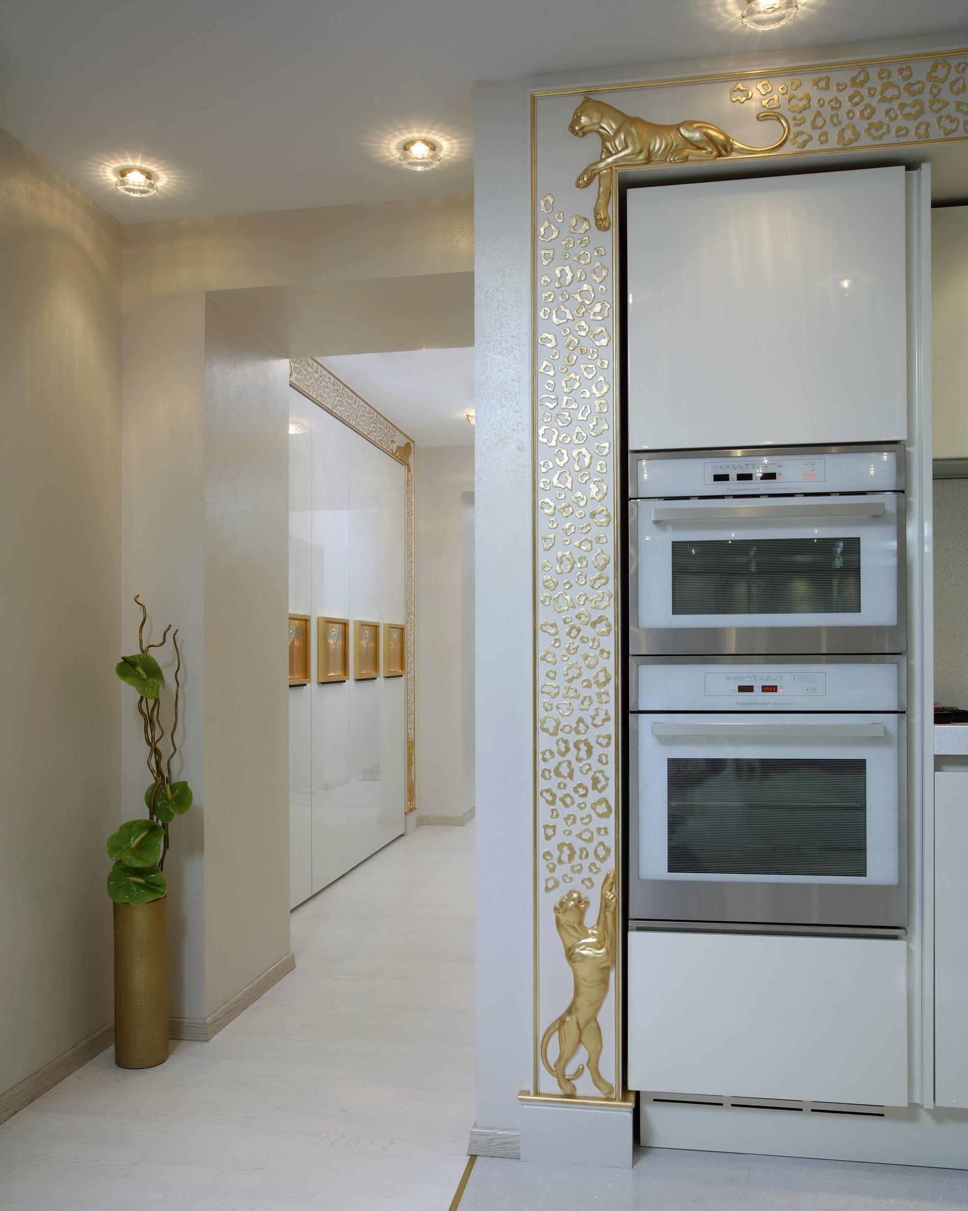 Реальный дизайн кухни Ар Деко