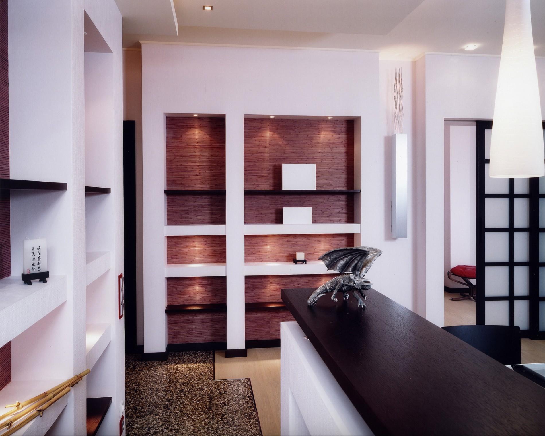 Фьюжн в интерьере квартиры