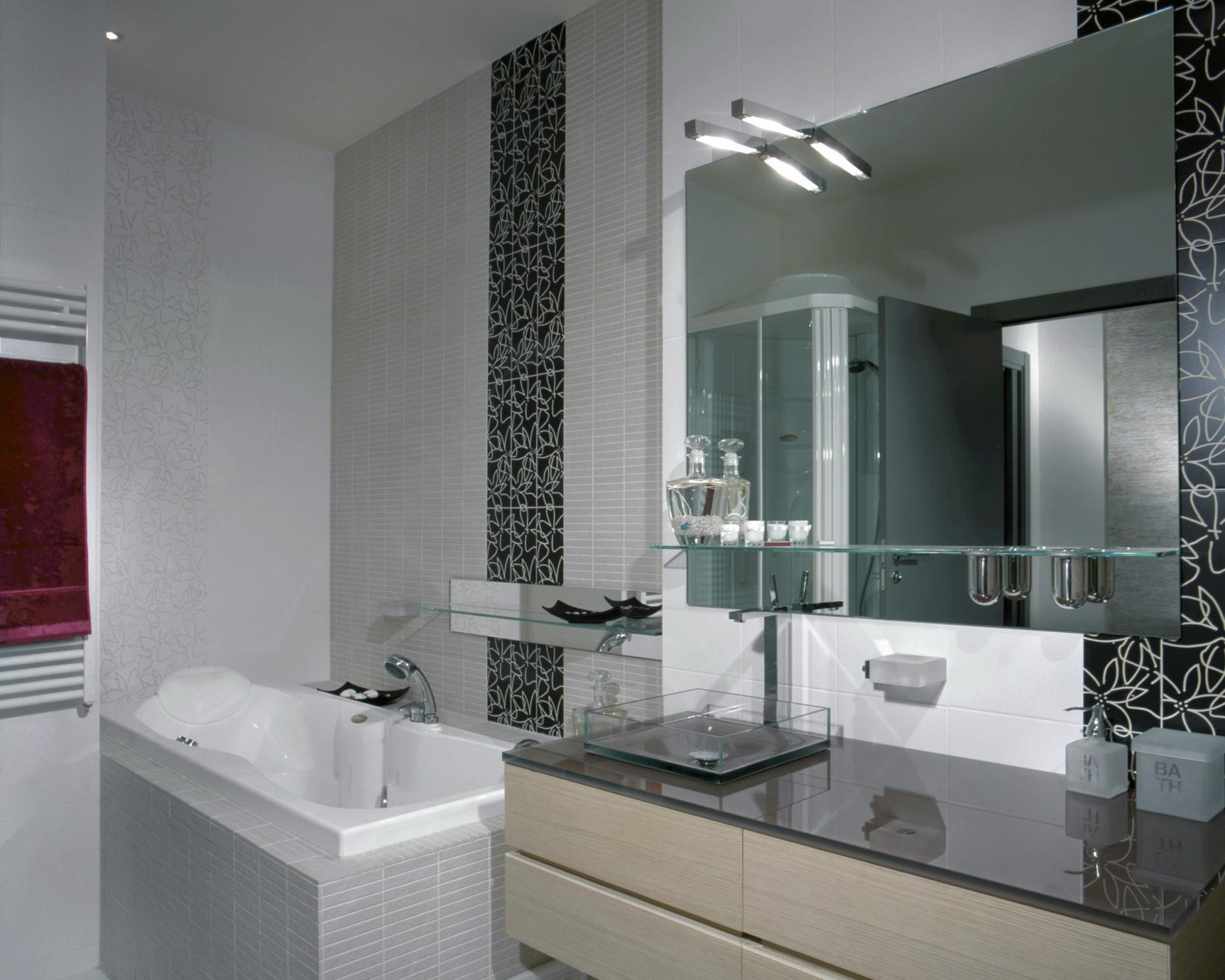 Реальный Интерьер ванной комнаты