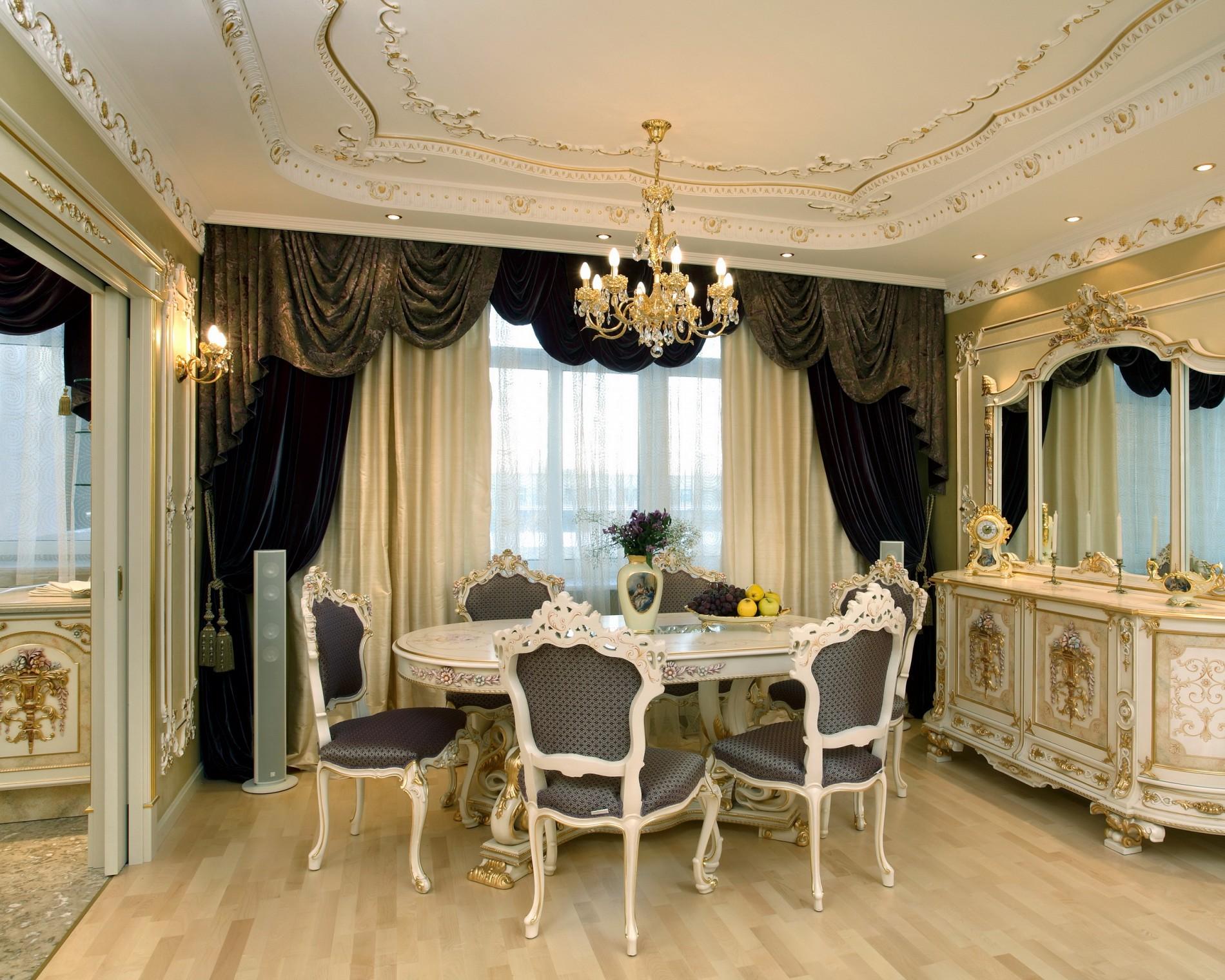 Лучший интерьер в классическом стиле