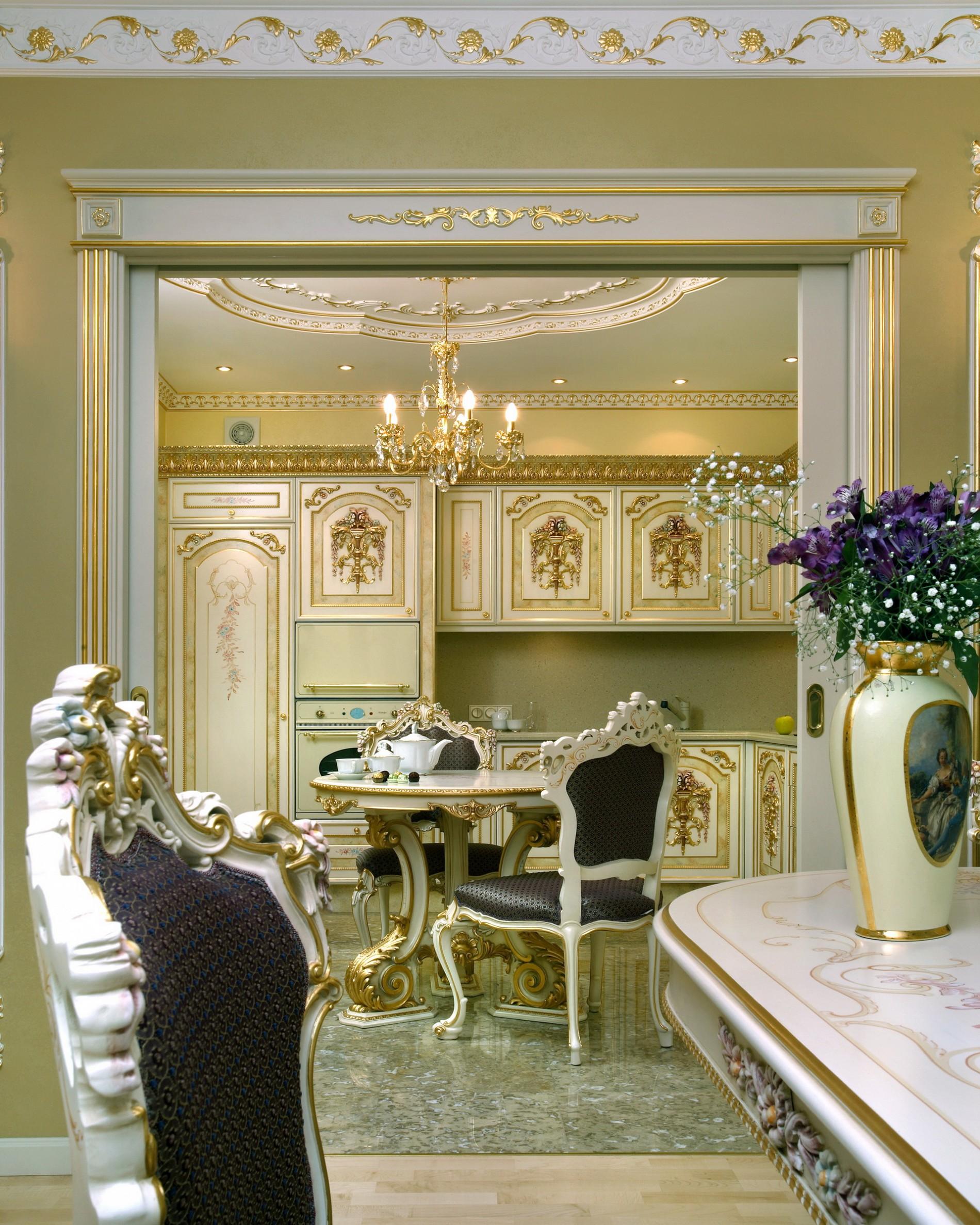 Лучшие классические интерьеры кухни