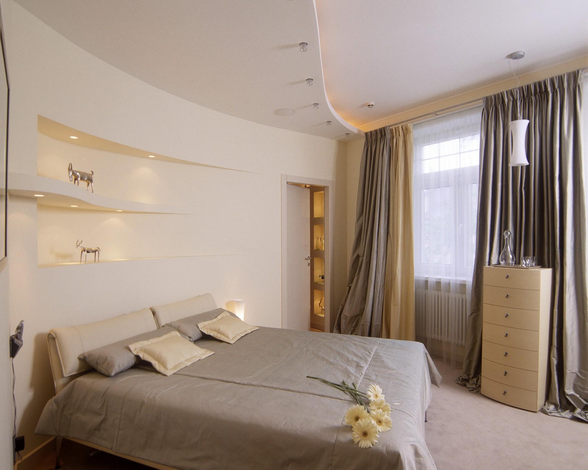 Стильная спальня в современном стиле