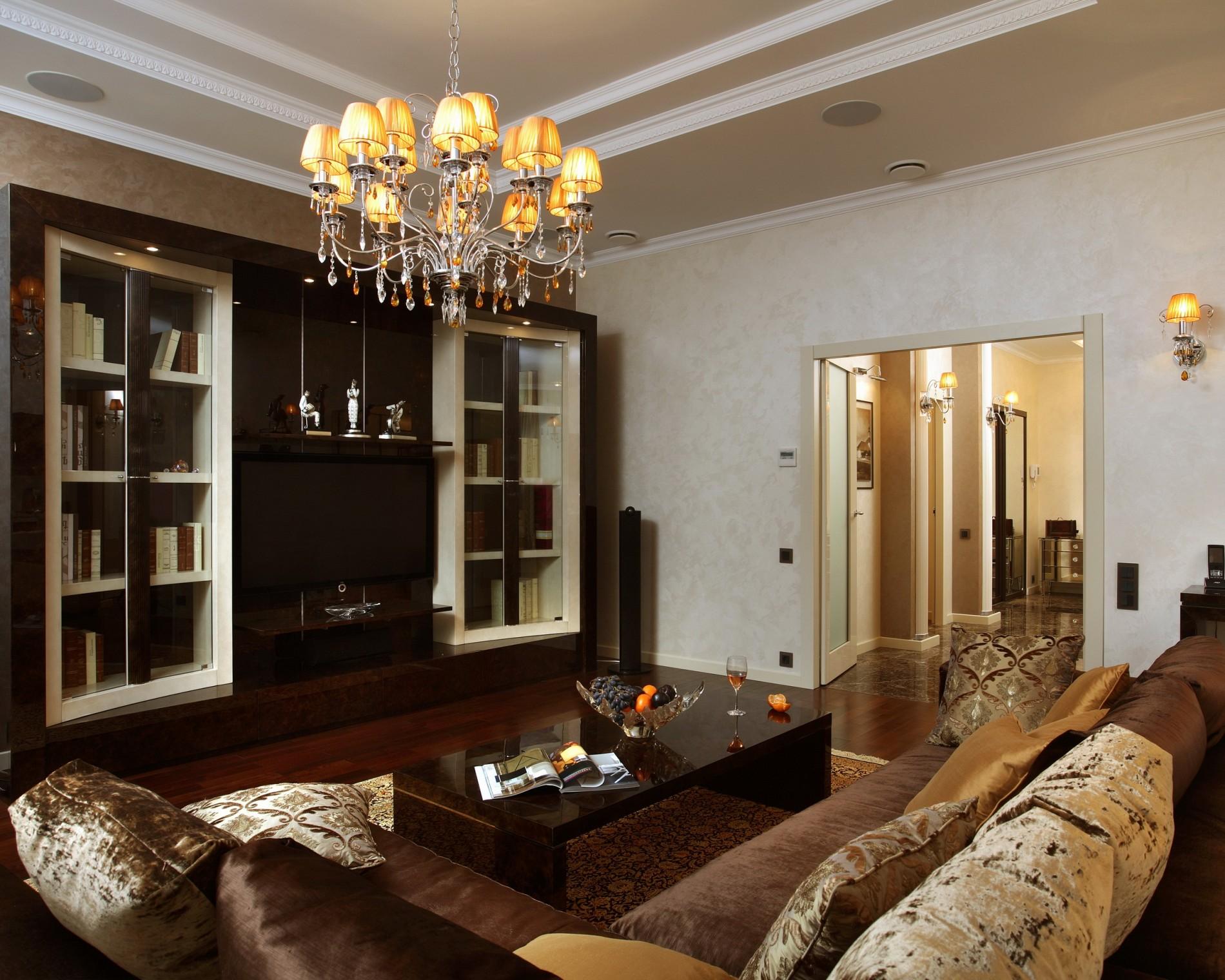 Квартира на Арбате в стиле ар деко