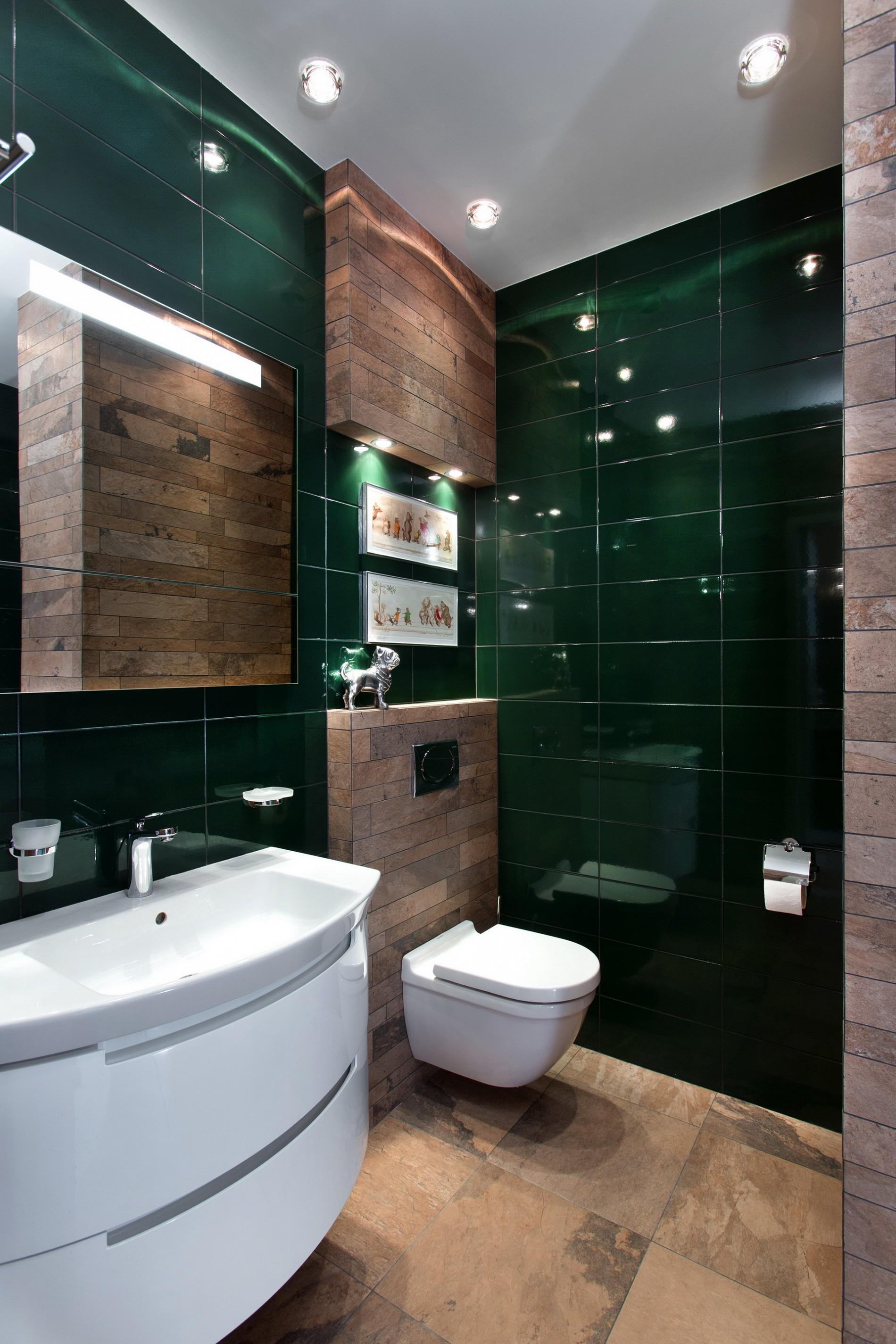 Дизайн ванной в стиле фьюжн
