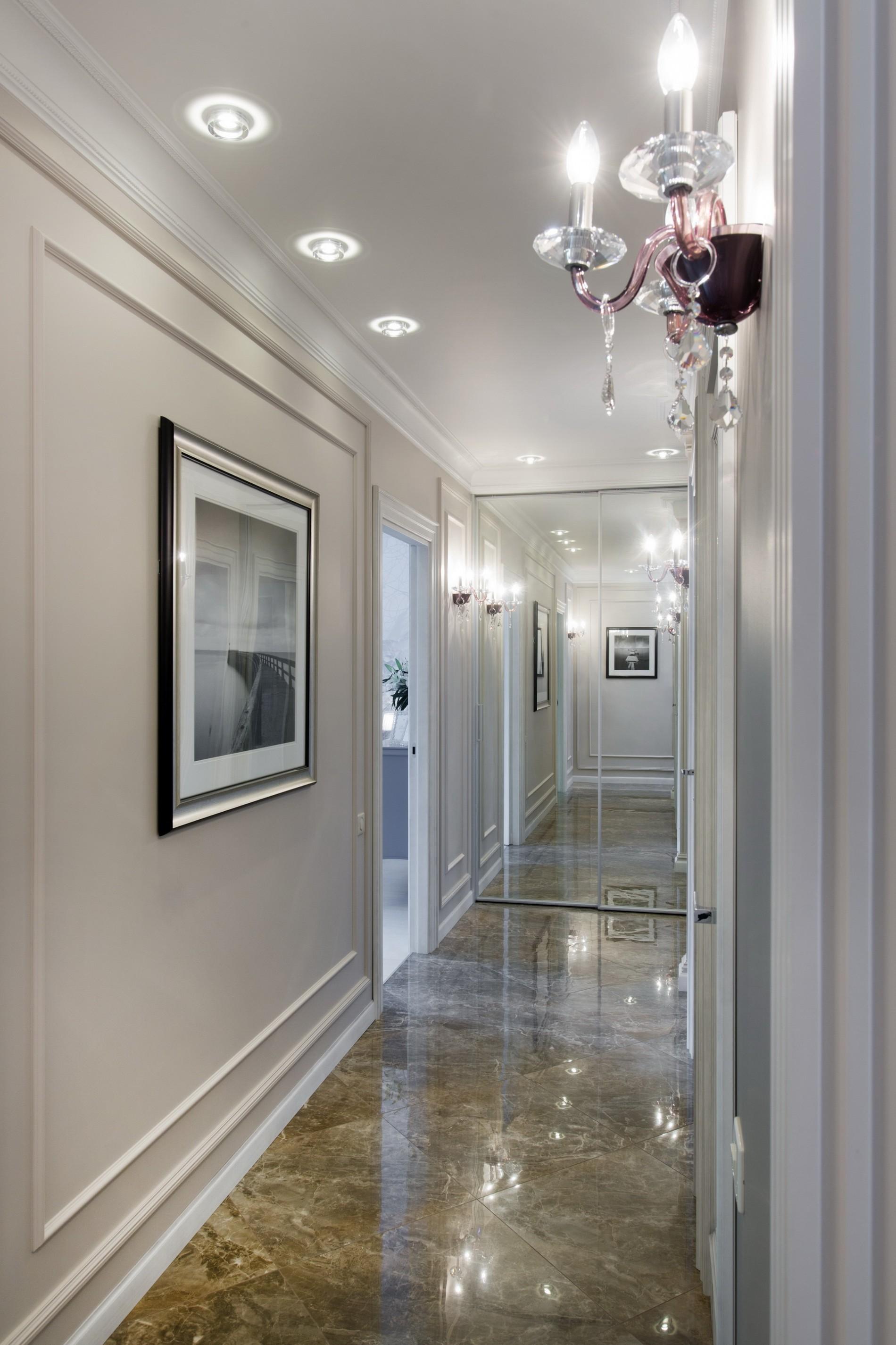 Оптическая иллюзия в интерьере квартиры 2016