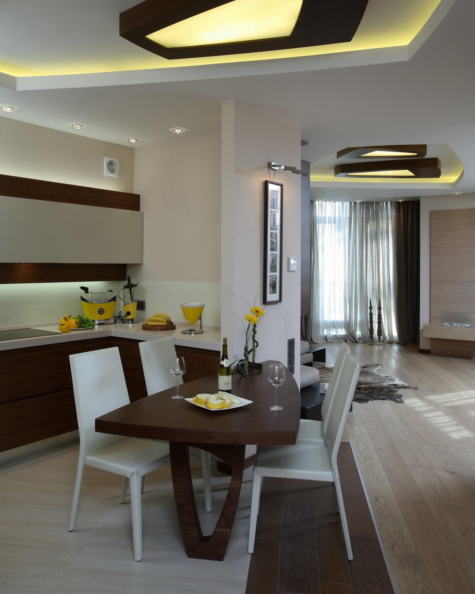 Квартира в современно стиле от студии artdefacto