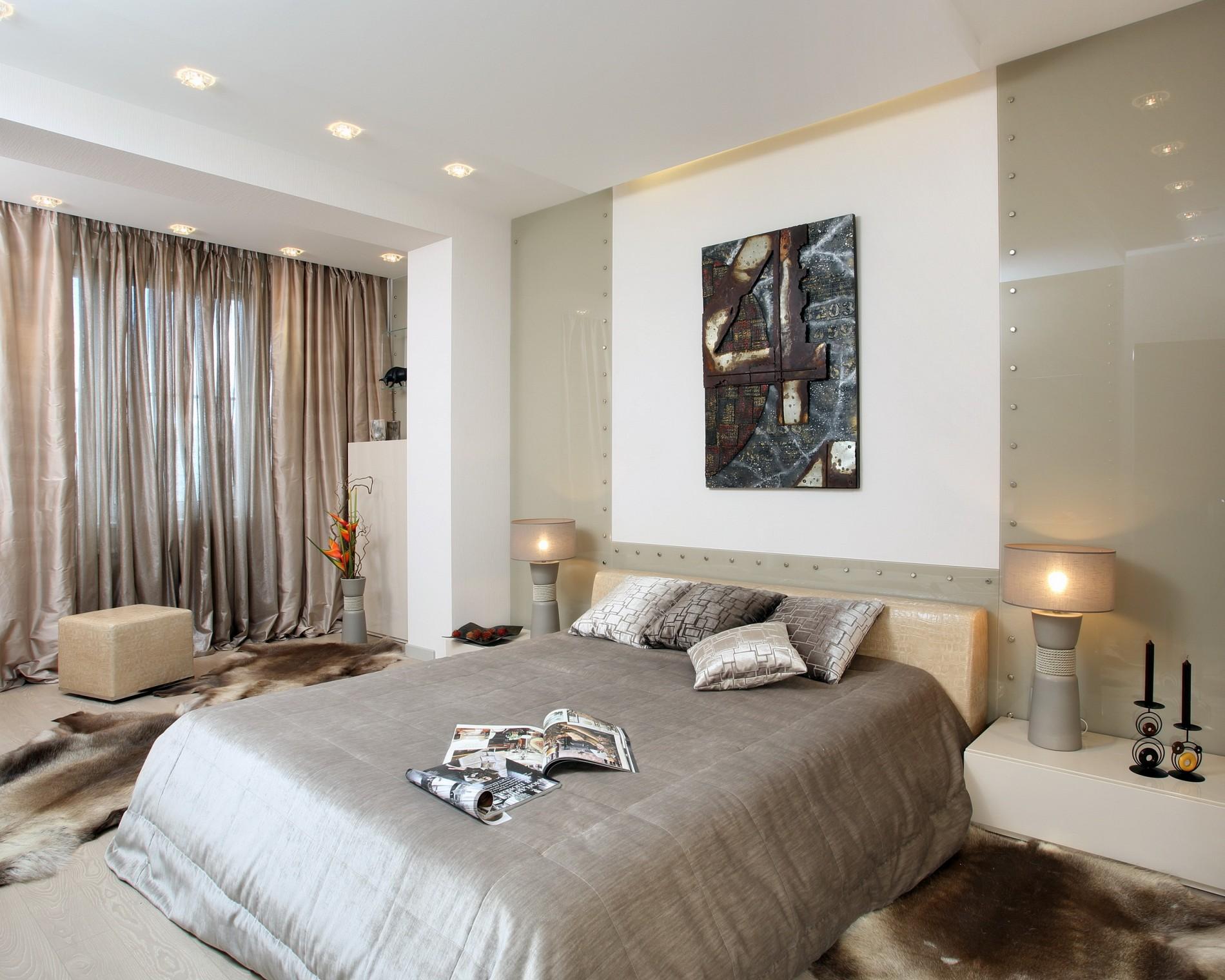стильная спальня в минимализме
