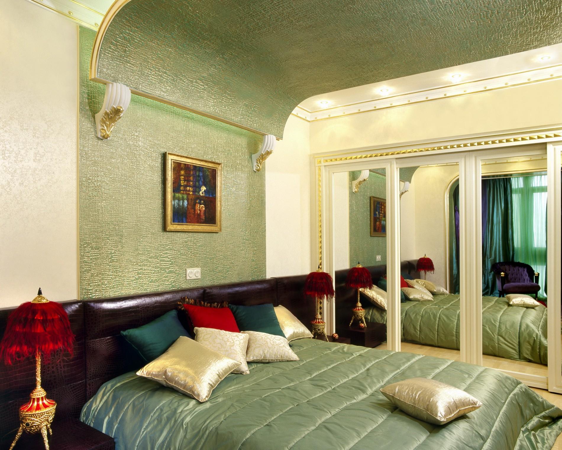 эксклюзивный дизайн интерьера спальни