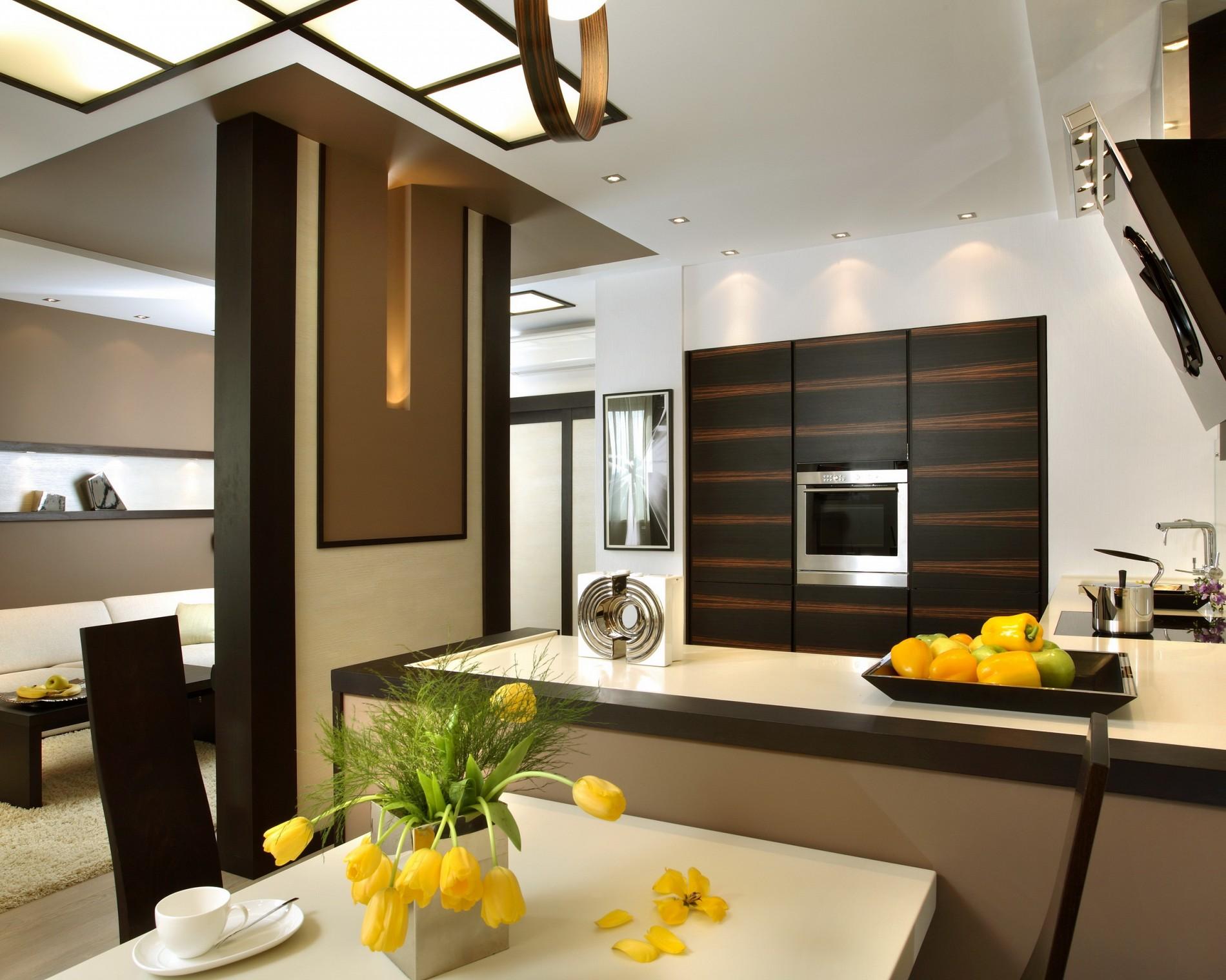 Стильная кухня фьюжн