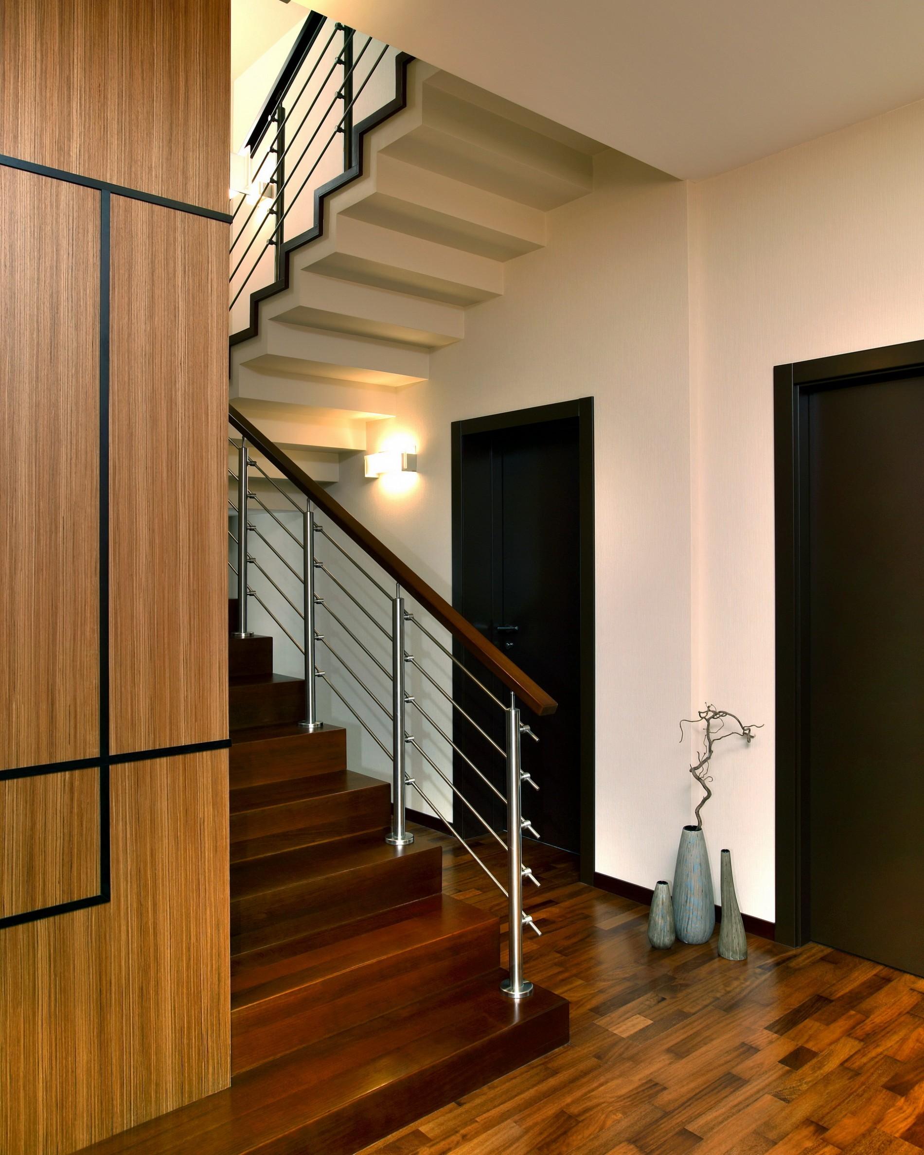 Дом в поселке 2071 в стиле минимализм